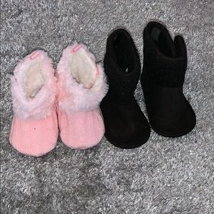 Other - Baby slippers/boots (2 pairs)